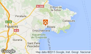 Mappa Rosas Monolocale 83817