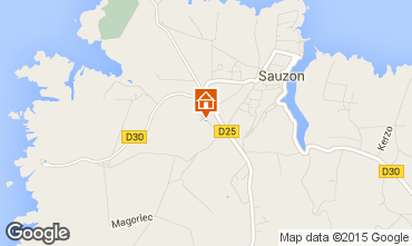 Mappa Sauzon Agriturismo 27025