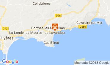 Mappa Le Lavandou Appartamento 113832