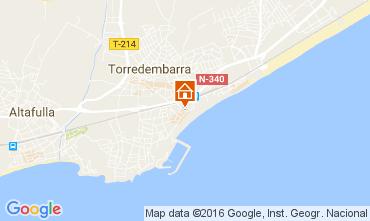 Mappa Torredembarra Monolocale 43383