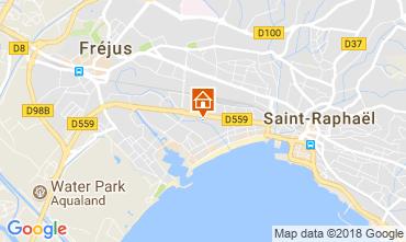 Mappa Fréjus Appartamento 113928