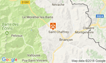 Mappa Serre Chevalier Chalet 114319