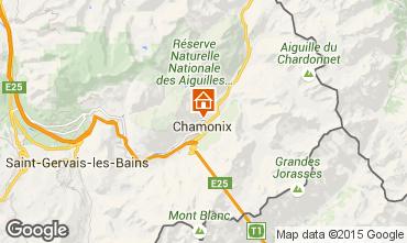 Mappa Chamonix Mont-Blanc (Monte Bianco) Appartamento 28457