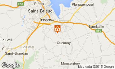 Mappa Saint Brieuc Casa 98735