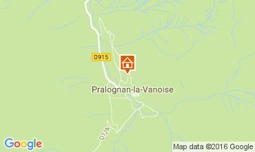 Mappa Pralognan la Vanoise Chalet 106385