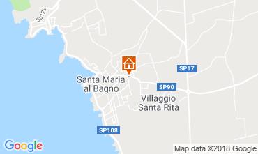 Mappa Gallipoli Appartamento 92141