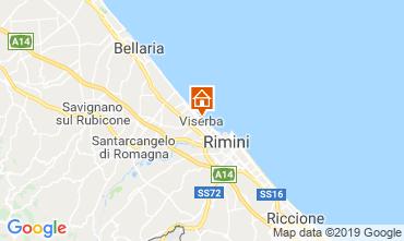 Mappa Rimini Appartamento 118630