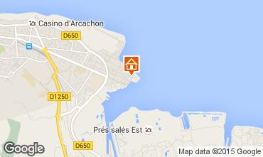 Mappa Arcachon Appartamento 6626