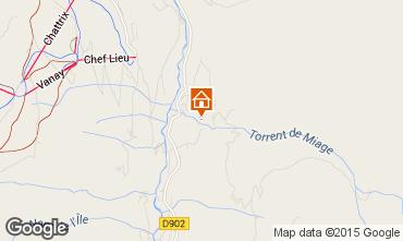 Mappa Les Contamines Montjoie Chalet 19543