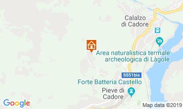 Mappa Pieve di Cadore Appartamento 119819