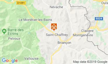 Mappa Serre Chevalier Chalet 118830