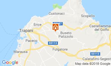 Mappa Castellammare del Golfo Villa  117096