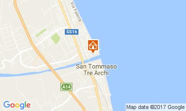 Mappa Porto Sant'Elpidio Appartamento 45970