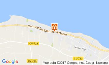 Mappa Dénia Bungalow 108044