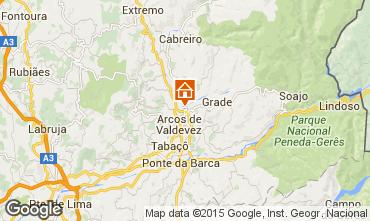 Mappa Arcos de Valdevez Villa  48914