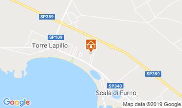 Mappa Porto Cesareo Appartamento 118981