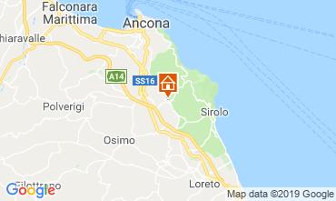 Mappa Sirolo Appartamento 79636