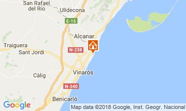 Mappa Vinaròs Villa  53548