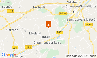 Mappa Blois Casa mobile 117941