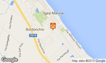 Mappa Bellaria Igea Marina Appartamento 16485