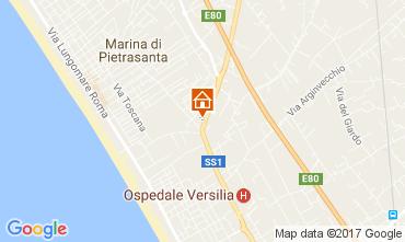 Mappa Pietrasanta Villa  108497