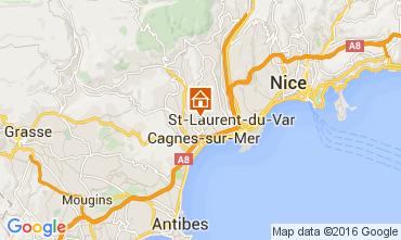 Mappa Nizza Appartamento 105422