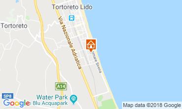 Mappa Tortoreto Appartamento 94099