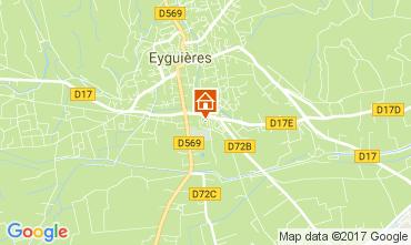 Mappa Eyguières Casa 112210