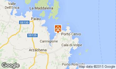 Mappa Porto Cervo Appartamento 29162