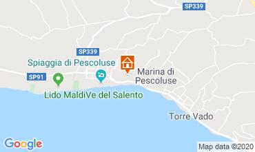 Mappa Pescoluse Appartamento 73800