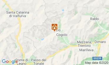 Mappa Peio (Pejo) Appartamento 40599