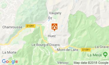 Mappa Alpe d'Huez Monolocale 116847