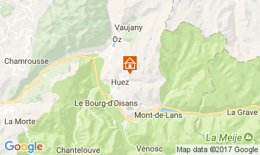 Mappa Alpe d'Huez Appartamento 111769