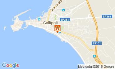 Mappa Gallipoli Appartamento 113109
