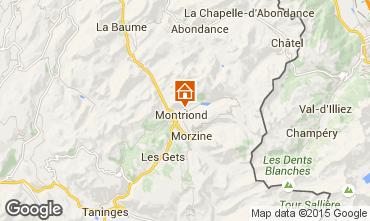 Mappa Montriond Chalet 1949
