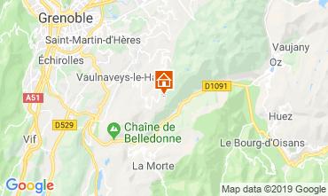 Mappa Chamrousse Appartamento 28273