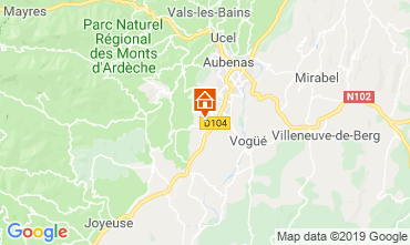 Mappa  Villa  117897