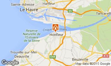 Mappa Honfleur Appartamento 72449