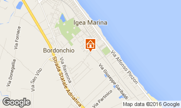Mappa Bellaria Igea Marina Appartamento 103006