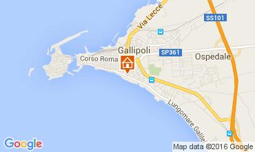 Mappa Gallipoli Appartamento 76942
