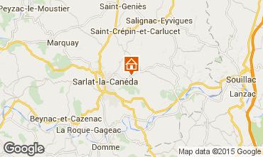 Mappa Sarlat Casa 12405