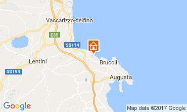 Mappa Brucoli Appartamento 22489