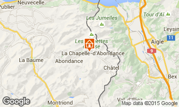 Mappa La Chapelle d'Abondance Chalet 94027