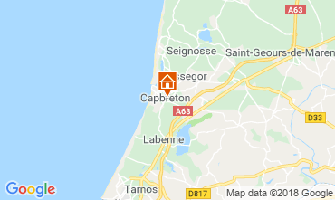 Mappa Capbreton Casa 117113