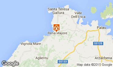 Mappa Santa Teresa di Gallura Villa  99078