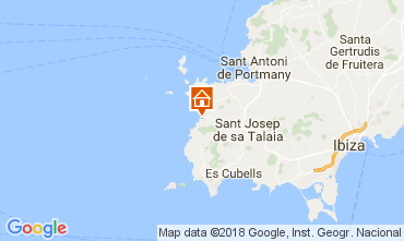 Mappa Cala Vadella Villa  112785