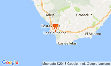 Mappa Los Cristianos Appartamento 115856