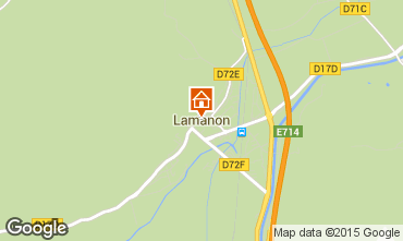 Mappa Lamanon Agriturismo 63660