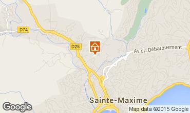 Mappa Sainte Maxime Villa  100051