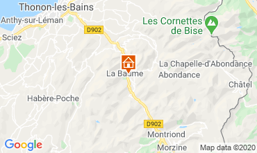 Mappa Saint Jean d'Aulps- La Grande Terche Chalet 517